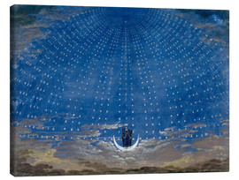 Canvas  The Palace of the Queen of the Night - Karl Friedrich Schinkel