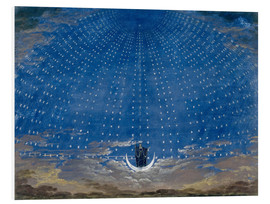 Foam board print  The Palace of the Queen of the Night - Karl Friedrich Schinkel