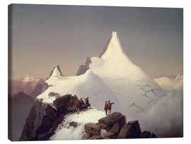 Canvas  View of the Grossglockner mountain - Marcus Pernhart