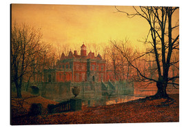 Aluminium print  The Haunted House - John Atkinson Grimshaw