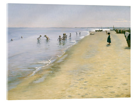 Acrylic glass  Summer Day at the South Beach of Skagen - Peder Severin Krøyer