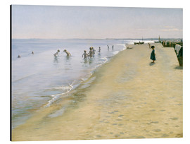 Alu-Dibond  Summer Day at the South Beach of Skagen - Peder Severin Kroyer