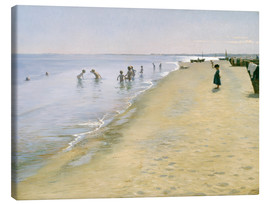 Canvas print  Summer Day at the South Beach of Skagen - Peder Severin Krøyer
