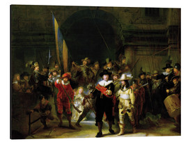 Aluminium print  The Nightwatch - Rembrandt van Rijn
