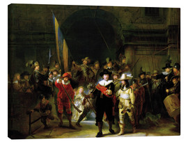 Canvas print  The Night Watch - Rembrandt van Rijn