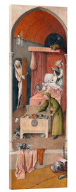 Acrylic print  Death and the Miser - Hieronymus Bosch