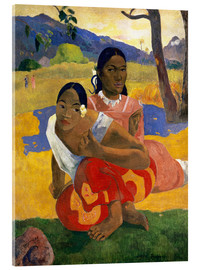 Acrylic print  When Will You Marry? - Paul Gauguin