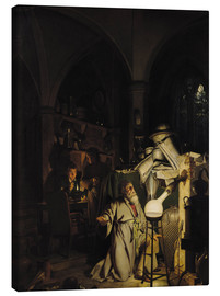 Canvas print  The Alchymist - Joseph Wright of Derby