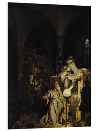 Foam board print  The Alchymist - Joseph Wright of Derby