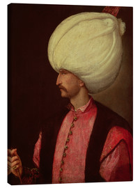 Canvas  Suleiman II - Italian School