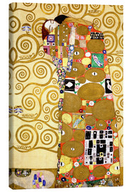 Canvas  The tree of life (fulfilment) - Gustav Klimt