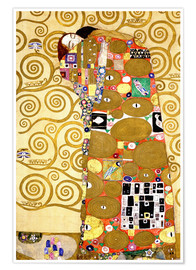 Poster  The tree of life (fulfilment) - Gustav Klimt