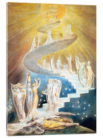 Acrylic glass  Jacob's ladder - William Blake