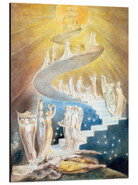 Alu-Dibond  Jacob's Ladder - William Blake