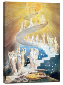 Canvas print  Jacob's ladder - William Blake