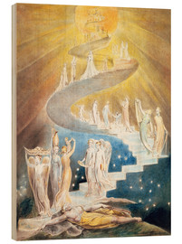 Wood  Jacob's Ladder - William Blake