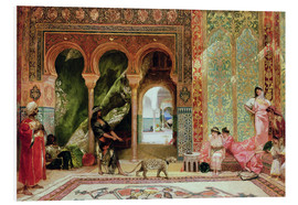 Foam board print  A Royal Palace in Morocco - Constant