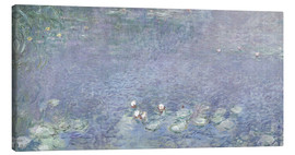 Canvas  Waterlilies, Morning 2 - Claude Monet