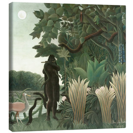 Canvas  The Snake Charmer - Henri Rousseau