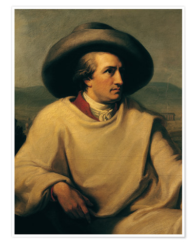 Premium poster Goethe in the Campagna (detail)