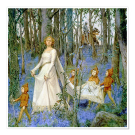 Premium poster  The Fairy Wood - Henry Meynell Rheam