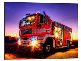Aluminium print  Fire truck in Brunswick - Markus Will