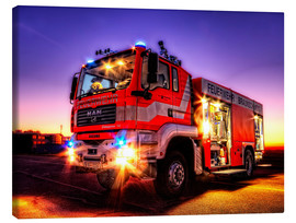 Canvas print  Fire truck in Brunswick - Markus Will