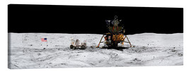 Canvas print  Apollo 16 lands in the lunar highlands - Stocktrek Images