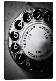 Canvas  Telephone dial - Falko Follert