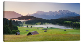 Canvas print  Alpine Country III - Rainer Mirau