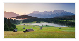 Premium poster Alpine Country III