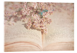 Acrylic print  The old book - INA FineArt