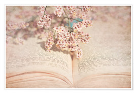 Premium poster  The old book - INA FineArt