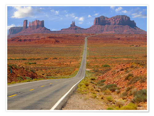 Premium poster Monument Valley XII