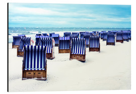 Aluminium print  blue summer - Timo Geble