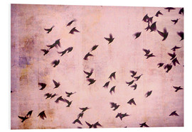 Foam board print  Flying South - Friederike Alexander