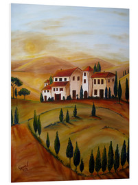 Forex  Sunrise in Tuscany - Christine Huwer