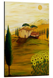 Christine Huwer - Sunflowers in Tuscany