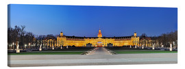 Canvas print  Panoramic view of palace Karlsruhe Germany - FineArt Panorama