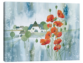 Canvas print  Poppy flower - Franz Heigl
