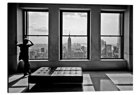 Aluminium print  New York, Top of the Rock - Thomas Splietker