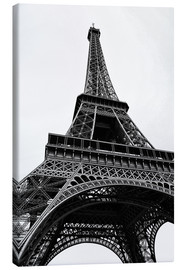 Canvas  eiffel tower - Claudia Moeckel