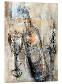Acrylic glass  vino - Christin Lamade