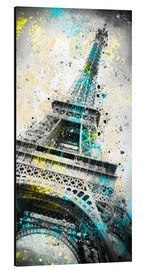 Aluminium print  City Art PARIS Eiffeltower IV - Melanie Viola