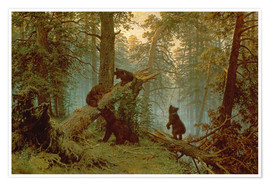 Ivan Ivanovich Shishkin - Morning in a Pine Forest