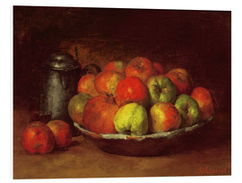 Forex  Still Life with Apples and a Pomegranate - Gustave Courbet