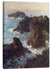Canvas print  The Rocks of Belle-Ile - Claude Monet