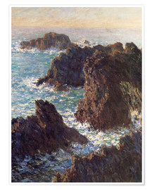 Premium poster The Rocks of Belle-Ile