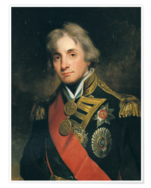 Premium poster Admiral Sir Horatio Nelson