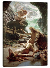 Canvas print  The Cave of the Storm Nymphs - Sir Edward John Poynter